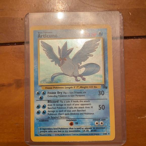 Pokémon card (Articuno)